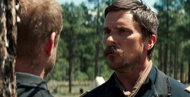 "This image released by (Entertainment Studios Motion Pictures shows Christian Bale in a scene from ""Hostiles."" (Entertainment Studios Motion Pictures via AP)"