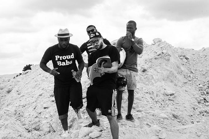 Proud Baba indeed. Blitz Bazawule's debut film is heading for Netflix