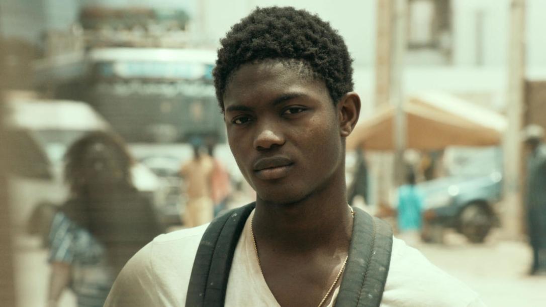 Souleiman played by Ibrahima Traoré